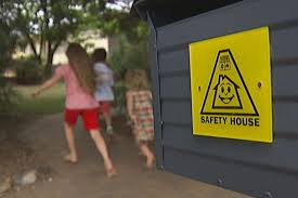 Safety House sign
